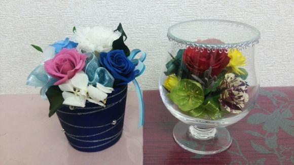 体験作品、費用は2000円。